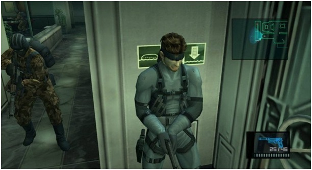 Геймплей Metal Gear Solid 2 Sons of Liberty