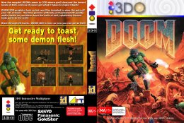 Doom (3DO) (Unofficial dvd cover)